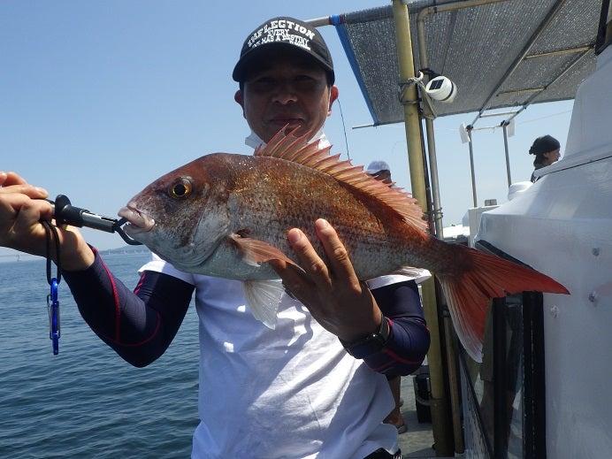鳴門釣り船 愛海 鯛ラバ 鯛ジギ