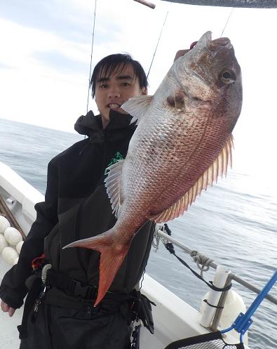 鳴門 釣船 愛海 鯛釣り