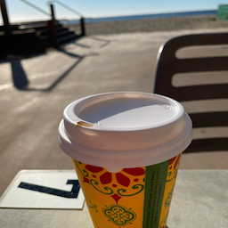 画像 朝の日の出コーヒー の記事より