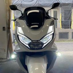 画像 PCX160 SP武川LEDフォグランプキット の記事より 3つ目