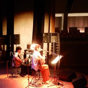 雲南市にて「二人のコンサート」の画像