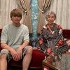 悦子さん一家のオフショット&二階堂ふみちゃんとの着物ツーショットの画像