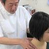 首が痛くて回らない患者さんが来ましたが、1分くらいで治りました。の画像