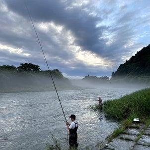 小鮎と遊ぶ 53(2021/7/10 安曇川 大会は中止だけど…)の画像