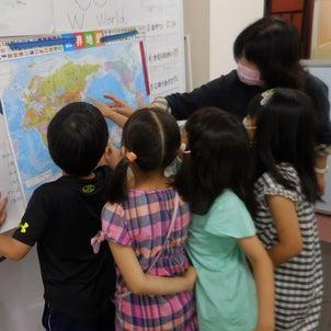 【Kodomo鶴見東口教室】7月カリキュラム「オリンピックについて学ぼう」の画像