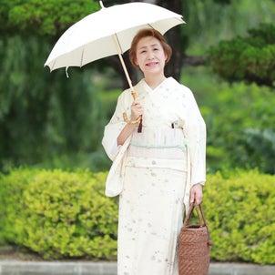 日傘は白or黒か・・・の画像