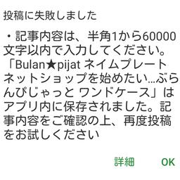 画像 Bulan★pijat ネームプレート ネットショップを始めたい…ぶらんぴじゃっと ワンドケース の記事より 9つ目