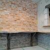 住宅内装をモルタル造形でカフェ風にの画像