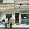 自転車の停め場所の画像