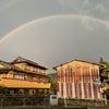 雨あがりにみえたのは。。。虹!の画像