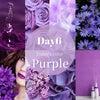 虹コレ6日目は高貴な色「紫」!の画像