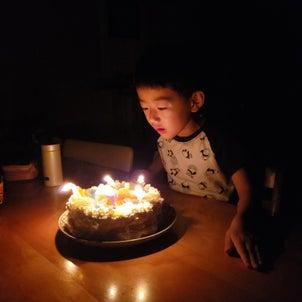 【5歳になった!】厳選したプレゼントはみっつ。の画像