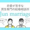 「恋愛が苦手な男性専門の結婚相談所」として婚活メディアから取材を受けました♪