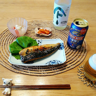 鯖の照り焼き実山椒