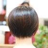 kpopショートヘアーで硬い髪も流れる髪に☆の画像