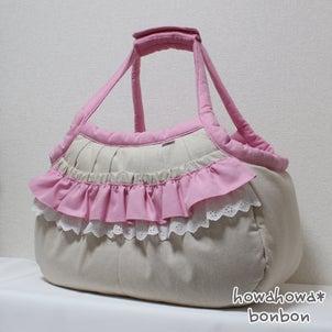 さくやちゃんくくりちゃんのキャリーバッグが出来上がりました☆2021.07.20②の画像