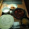 やよい軒 「牛すじ野菜カレー定食」※ご飯おかわり自由