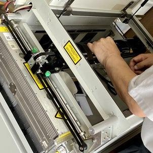 レーザー加工機メンテナンスの画像