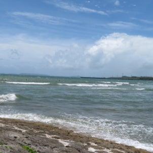 沖縄サーフィンクリニック!ビデオ撮影の画像