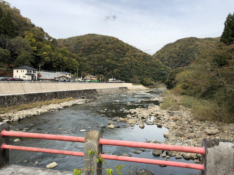 武庫川上流の橋