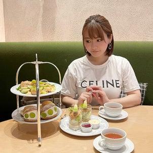 【TSUCHI】グリーンアフタヌーンティー【NU茶屋町プラス】の画像