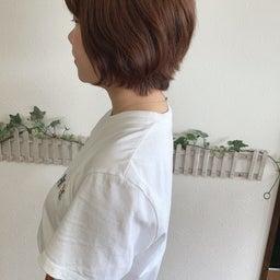 画像 カットで変わる!くせ毛でまとまらなかったショートヘアから大変身 の記事より 3つ目