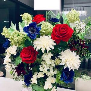 お祝いのお花の画像