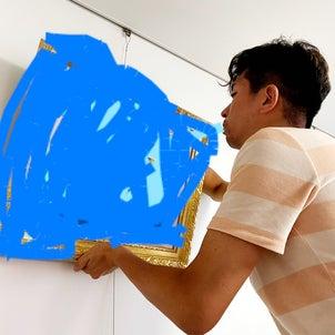 絵画を飾るの画像