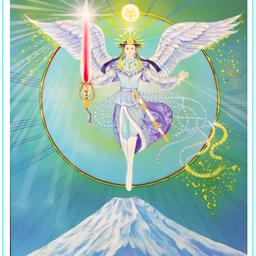 画像 今日の神様「瀬織津姫ー祈り」サワ・ローランの世界展 の記事より 5つ目