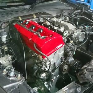 S2000,F20C改F22Rエンジン搭載ね。の画像