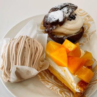 店売りケーキ食べ放題!カフェ・ド・シナモニでまったり〜!