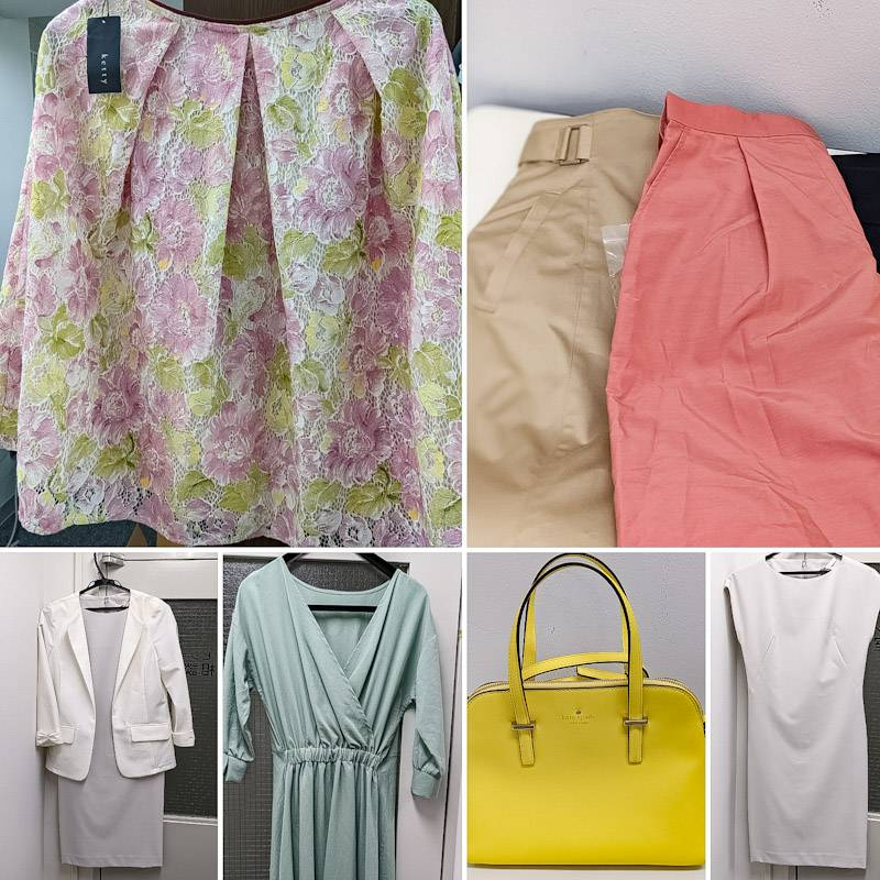 お福分けは「洋服」でも!ケイト スペードの黄色の「バック」でも!