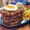 【北海道函館市】激熱!ハンバーグチャレンジに追いハンバーグ!!〜ファイヤーバーグさん〜
