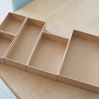 ダイソーから注目の新商品が登場!紙製デスク収納箱4種の検証レポ