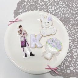 画像 推しの誕生日アイシングクッキー♡オーダー の記事より 3つ目