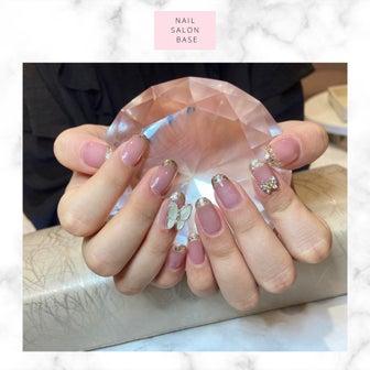 《nail salon base》サロンワーク♡