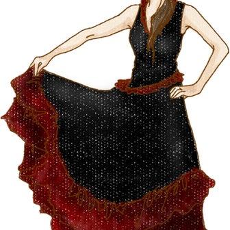 パソドブレのスカートの謎