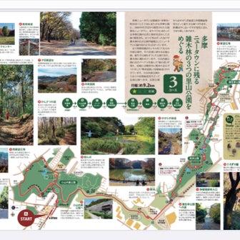 東京都の町田市、八王子市の公園マラニック