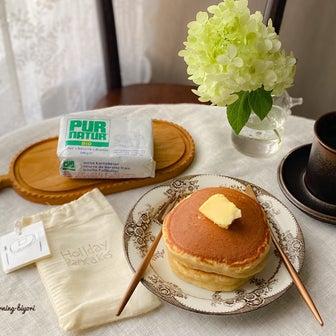 おうちモーニング その2355 ~パンケーキ~