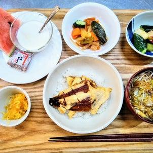 夏バテ防止☆鰻たま丼の画像