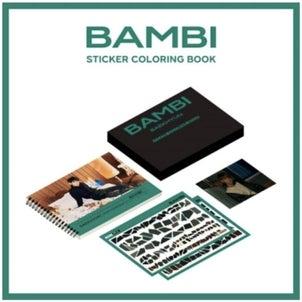 ベッキョン(EXO)- ステッカーカラーリング「BAMBI」購入代行の画像