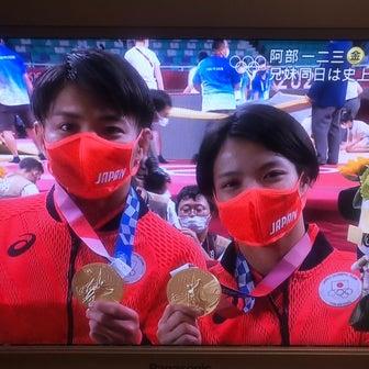 阿部兄妹金メダルおめでとう!と朝ラン
