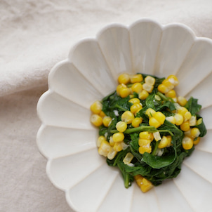 夏に食べたい美肌野菜♡モロヘイヤレシピの画像