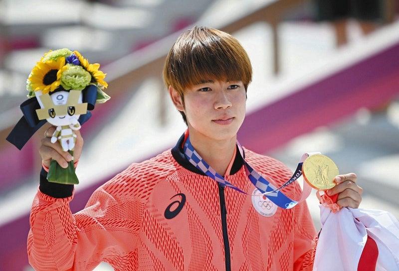 東京五輪で金メダルを取った堀米雄斗