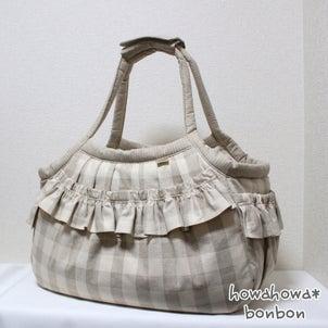 ピノちゃんレモンちゃんのキャリーバッグが出来上がりました☆2021.07.27①の画像