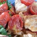 豚バラとミニトマトのトンテキお弁当(*´~`*)