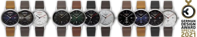 バウハウス腕時計は、国際的に権威あるドイツのデザイン賞「German Design Award 2021」の特別賞を受賞。