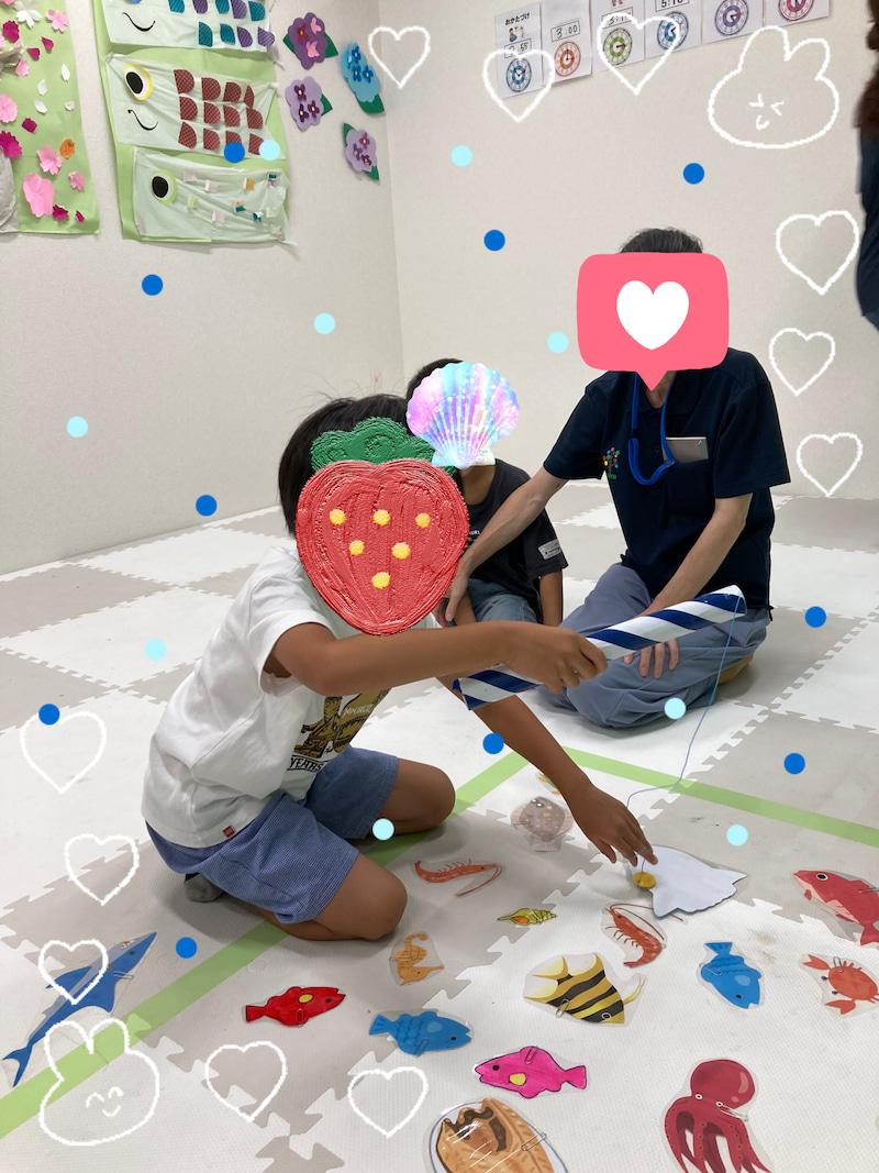 o1915255314978410513 - 7月28日toiro相模原教室 手作り魚釣り♬