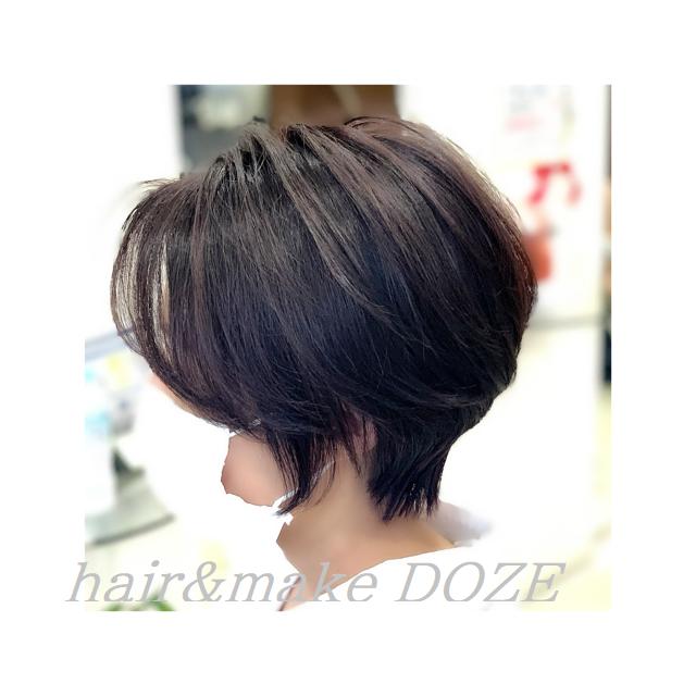 人気の丸みスタイルも髪質改善プレミアムトリートメントで!