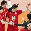 頑張れ!男女日本バレーボール!